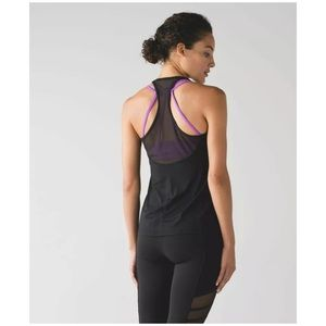 Lululemon Wild and Free Tank in Black 4 6 Small
